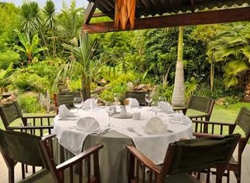 Amanzi Restaurant in Harare